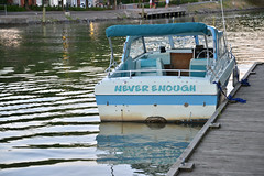 Never Enough (dr_marvel) Tags: neverenough canal water boat waterway erie eriecanal pittsford ny newyork boating rochester