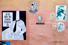 Roma. Trastevere. Street art by Mr.Minimal, Tzing Tao, Merio, Lus57, K2m (R come Rit@) Tags: italia italy roma rome ritarestifo photography streetphotography streetart arte art arteurbana streetartphotography urbanart urban wall walls wallart graffiti graff graffitiart muro muri streetartroma streetartrome romestreetart romastreetart graffitiroma graffitirome romegraffiti romeurbanart urbanartroma streetartitaly italystreetart contemporaryart artecontemporanea mrminimal tzingtao merio lus57 k2m poster posterart colla glue paste pasteup fishesinvasion kappa2emme trastevere