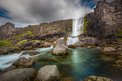 xarrfoss @ingvellir (Benjamin MOUROT) Tags: iceland islande north northernlight viking canon 70d longexposure leefilter polarised lightroom6 photoshopcs3 1022mm landscape paysage poselongue europe july waterfall cascade cascada stream water thingvellir ingvellir xarrfoss oxararfoss parliement parlement sky clouds colorful