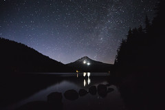 (Danbak3r) Tags: trillium lake trilliumlake oregon milkyway