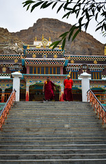 Sakya Tangud Monastery (abinaya.kalyanasundaram) Tags: monastery architecture travel travelphotography monasteries temple buddhism buddhist monk monks colors colorful religion mountains india indianphotography himachal himachalpradesh spiti spitivalley kaza