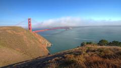 IMG_0282_284 Golden Gate Bridge HDR (vicjuan) Tags: 20160814  usa  ca california marinheadlands hdr tonemapping geotagged goldengatebridge geo:lat=37829871 geo:lon=122483283 marincounty