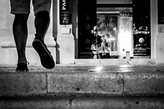 16082016-IMG_8958 (Michiluzzu) Tags: scicli sagrato di s m la nova walking bn church candle night lights light blackwhite bnw biancoenero