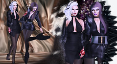 Thelma & Louise (Venus Germanotta) Tags: secondlife fashion fierce sisters edit photoshop aesthetic fur crystal ferrofluid cruelladeville venus mcqueen slay queen draqqueen conquer friendship powerful glamorous beauty avantgarde style