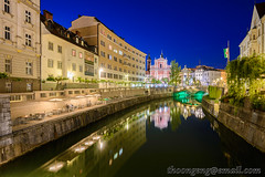 Day 10 Ljubljanica Riverbank, Ljubljana, Slovenia May '16 (knowenoughhappy) Tags: ljubljana may 2016 slovenia travel trip old town ljubljanica river bank riverbank