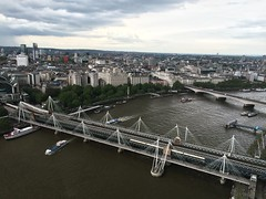 (ashplant_) Tags: traveling photography uk england london unitedkingdom westminster riverthames londoneye cityofwestminster goldenjubileebridge southbank