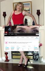 20 MILLION VIEWS (Rachel Carmina) Tags: cd tv tg trap tgirl trans femboi legs heels crossdresser transvestite