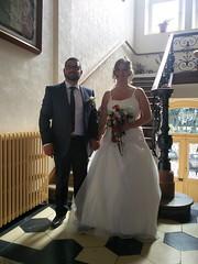 Les mariés à la mairie