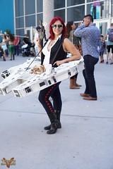 Long Beach Comic Con 2016 (V Threepio) Tags: longbeachcomiccon lbcc lbcc2016 comiccon cosplay costume cosplayer outfit dressup photoshoot modeling unedited unretouched sonya6000 35mmlens straightfromcamera girl female starwars hansolo millenniumfalcon yorkie chewbacca rule63