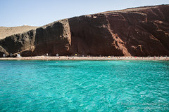 The Red Beach. Santorini, Greece