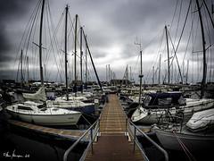 Yachthafen Urk (Oly User) Tags: flevoland ijsselmeer juli2016 niederlande omdem5markii olympus thomasmeinersmann urk fisheye8mmf18pro yachthafen