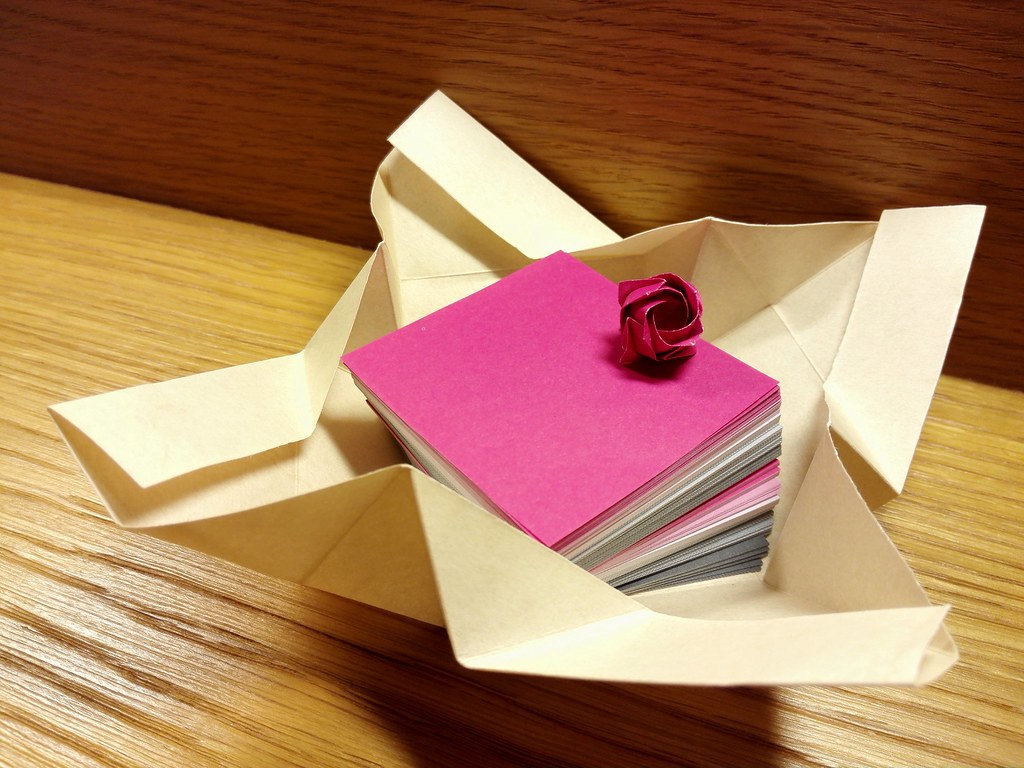 The World\'s newest photos of origami and rose - Flickr Hive Mind