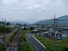 P1610576 (Rambalac) Tags: asia japan lumixgh4 night railroad transportation