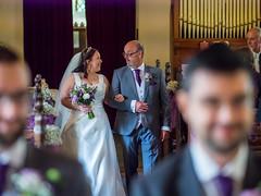 Here comes the bride (johnnewstead1) Tags: wedding weddingphotography weddingday weddingphotographer weddingdress bride brideandgroom church johnnewstead simonwatson simonwatsonphography norfolk norfolkwedding norfolkweddingphotographer norfolkbride olympus em1 omd mzuiko