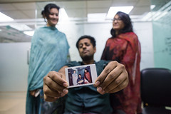 Picture in Picture (AvikBangalee) Tags: fujifilminstax instantphoto pip pictureinpicture portrait portraiture photoinphoto fujifilminstaxseries avikbangalee dhaka bangladesh