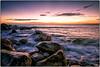 Washed away (Chenxi Ni) Tags: churchopecove isleofportland landscape sea seaside coast seaview sunset seamotion motion water silky slowshutterspeed lowlight nikon d800 20mm f18 nikon20mmf18g wave seawave