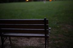 L1001284 (dl2019) Tags: neighborhood park lawn dusk light bench