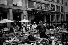 Antiquers (priscellie) Tags: blue stockholm norrmalm hotorget