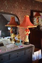 Ketchikan, Alaska - Creek Street - Dolly's House - Bedroom (jrozwado) Tags: northamerica usa alaska ketchikan kichxan creekstreet bedroom house houseofillrepute brothel dollyshouse museum