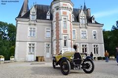 Bugatti Type 23 Brescia (Monde-Auto Passion Photos) Tags: voiture vhicule auto automobile bugatti brescia jaune cabriolet france 48h montargis villemandeur domaine lisledon