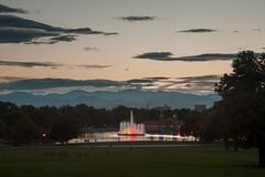 Mount Evans Sunset (Kevin Bauman) Tags: mountains mtevans mountain mountevans colorado denver sunset citypark