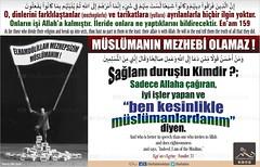 Kerim Kuran - 6-159 (Oku Rabbinin Adiyla) Tags: allah kuran islam ayet verse god religion bible muslim rahman oku okurabbini mezhep hadisler