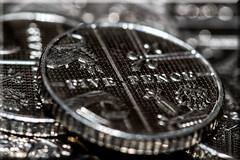 Five Pence Piece (Boba Fett3) Tags: money coin silver macro closeup upclose depthoffield dof canon100mm28l canon100d