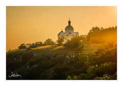 Holy Hill / Czech republic (Ja) Tags: sundown sunset czech moravia sunlight sun landscape olympus zuiko omd nature