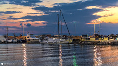 Small port (nikhrist) Tags: smallport evening boats sea reflections glyfada greece nickchristodoulou