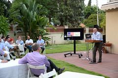DCM Tsou congratulates Eilat Eilot on the success with their US (U.S. Embassy Tel Aviv) Tags: dcmtsou pao mepi afeka eilateilot eilot advancingrenewableenergy entrepreneurship education israel usmepi educationproject herzliya center isr