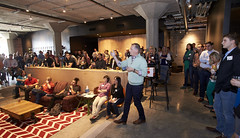 Customer Experience -BS0U7457 (TechweekInc) Tags: techweek event 2016 startup technology tw innovation kansas city tech kc fest customer experience smi digita local brews insights cto jason taylor stackify software speaker condado group ramsey zerni deanna ferrante