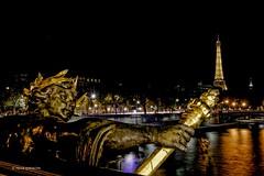 Pont Alexandre III (hervekaracha) Tags: france paris pont nikon d610 nuit night