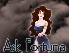 Fortuna_Dark (SchwanSongs) Tags: ask fortuna askfortuna goddess fate fortune schwansongs drawing female woman buxom