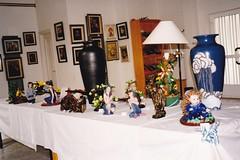 ANO 1999: Exposicin dos traballos realizados polas alumnas do curso de manualidades do Concello de Sandis no  Centro Social do Concello (3 de maio de 1999). (Xav Feix) Tags: concellodesandis sandis curso manualidades rural ourense galicia animacin mulleres rurais 1999 memoria