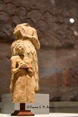 Worshippers from Sumer, Southern Mesopotamia (Sumer and Akkad!) Tags: sumer earlydynasticperiod mesopotamia alabaster statue praying ira iraq southerniraq sulaymaniyahmuseum sulaimaniyamuseum