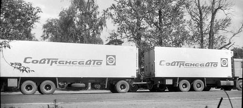 Volvo F12 Truck & Drawbar Trailer ©  Sergey G
