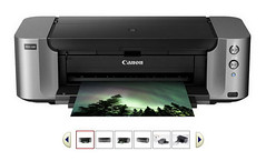 color canon photo printer professional inkjet pixma pro100 (Photo: Ximadu on Flickr)