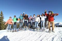 pre collegiate snowshoe tour