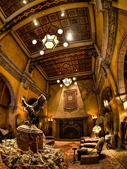 "Tower of Terror Lobby - California Adventure • <a style=""font-size:0.8em;"" href=""http://www.flickr.com/photos/85864407@N08/8369531136/"" target=""_blank"">View on Flickr</a>"