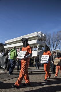 Witness Against Torture: Bleachers
