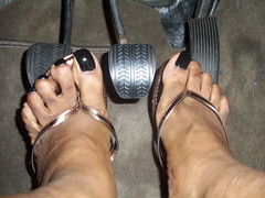 Milani - Black Swift nail polish (hyellow) Tags: black cute feet foot toes long pretty nail polish