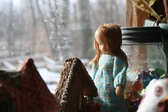 I'd just as soon be inside looking out (Crazyquilter) Tags: sara nancyannstorybookdoll nasb
