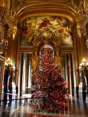 Grand Tree (b16dyr) Tags: paris france architecture gold golden murals christmastree goldleaf palaisgarnier parisopera baroquearchitecture operanationaldeparis thegrandfoyer