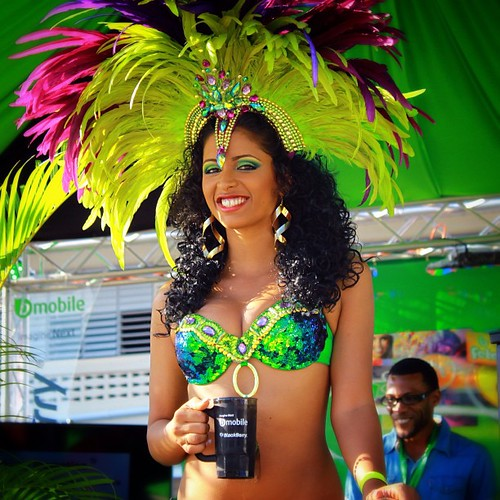 bmobile blackberry @PREStigeFete #trinidad #carnival