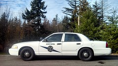 Washington State Patrol Ford Crown Victoria Police Interceptor (andrewkim101) Tags: county lake ford station silver washington state police victoria wa crown patrol everett interceptor snohomish p71 wsp detachment cvpi flickroid