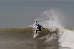 Psychedelic Surfer in action! (s0ulsurfing) Tags: uk greatbritain winter england cold english beach island photography blog surf waves image action unitedkingdom january spiderman lifestyle surfing spray telephoto vectis isleofwight blogging gb surfers isle moves wight westwight pacey freshwaterbay 2013 s0ulsurfing jasonswain psychedelicsurfer