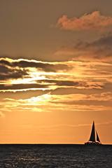 Sunset (Sage Goulet (SAGO PHOTO)) Tags: sunset sailboat hawaii kauai poipu poipubeachpark