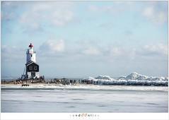 Kuiend ijs (5D043542) (nandOOnline) Tags: winter berg nederland natuur vuurtoren marken landschap noordholland ijselmeer ijs vorst markermeer vriezen ijsschotsen kruiendijs dooien paardvanmarken