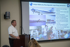 Airborne Science Briefing (Kevin Baird) Tags: aircraft science nasa planes briefing airborne dryden daof nasatweetup nasasocial nasaairborne