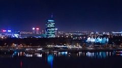Belgrade (OgnjenGolubovic) Tags: night reflections long exposure serbia belgrade beograd sava usce nocu savamala epl1
